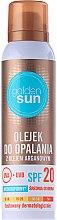 Parfüm, Parfüméria, kozmetikum Napolaj argánolajjal - Golden Sun SPF 20