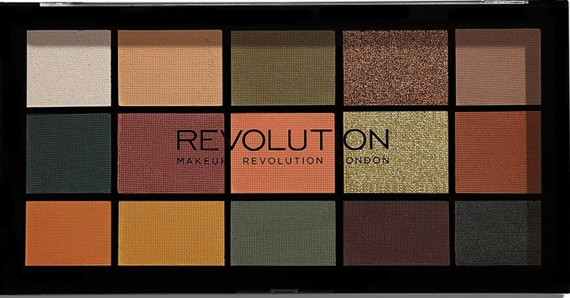 Szemhéjfesték paletta - Makeup Revolution Division Re-loaded Palette