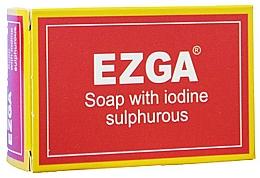 Parfüm, Parfüméria, kozmetikum Natúr kénszappan - Ezga Soap with Iodine Sulpfurous