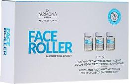 Parfüm, Parfüméria, kozmetikum Anti-age koncentrátum - Farmona Professional Face Roller Active Anti-Ageing Concentrate