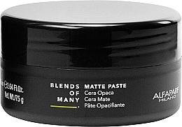 Parfüm, Parfüméria, kozmetikum Matt fajfixáló paszta - Alfaparf Milano Blends Of Many Matte Paste