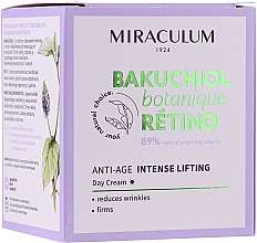 Parfüm, Parfüméria, kozmetikum Nappali arckrém - Miraculum Bakuchiol Botanique Retino Anti-Age Intensive Lifting