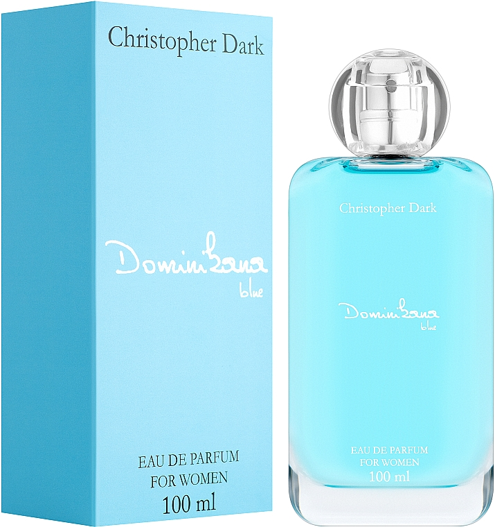 Christopher Dark Dominikana Blue - Eau De Parfum