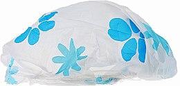 Parfüm, Parfüméria, kozmetikum Zuhanysapka, 9298, fehér-világos kék - Donegal Shower Cap