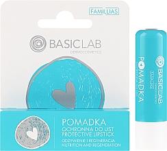 Parfüm, Parfüméria, kozmetikum Védő ajakrúzs - BasicLab Dermocosmetics Famillias