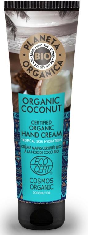 Hidratáló kézkrém - Planeta Organica Organic Coconut Hand Cream