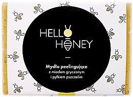 Parfüm, Parfüméria, kozmetikum Peeling-olaj méhpollennel és mézzel - Lullalove Exfoliating Soap Bar With Honey