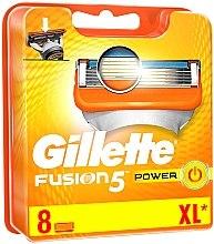 Parfüm, Parfüméria, kozmetikum Cserélhető tartalék pengék, 8 db. - Gillette Fusion Power