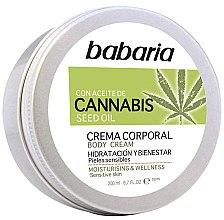 Parfüm, Parfüméria, kozmetikum Testkrém - Babaria Cannabis Moisturizing Body Cream