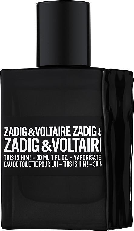 Zadig & Voltaire This is Him - Eau De Toilette (teszter kupakkal)