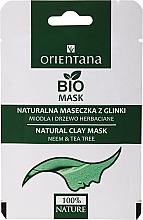 """Parfüm, Parfüméria, kozmetikum Agyagos maszk zsíros bőrre """"Méz és teafa"""" - Orientana (papír tasak)"""