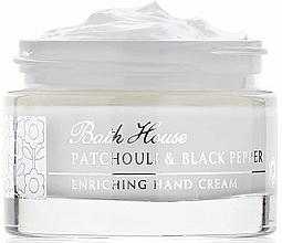 Parfüm, Parfüméria, kozmetikum Bath House Patchouli & Black Pepper - Kézkrém