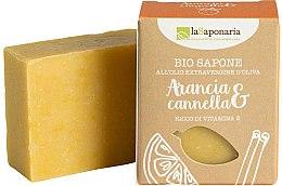 Parfüm, Parfüméria, kozmetikum Szappan narancs és fahéj kivonattal - La Saponaria Orange & Cinnamon Soap