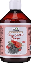 Parfüm, Parfüméria, kozmetikum Színvédő sampon - Eco U Poppy Seed Oil Shampoo