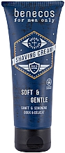 Parfüm, Parfüméria, kozmetikum Borotva krém - Benecos For Men Only Shaving Cream