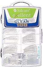 Parfüm, Parfüméria, kozmetikum Műköröm tip, d/k - Silcare Tipsy Exellent Clear