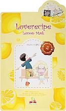 Parfüm, Parfüméria, kozmetikum Szövetmaszk citrom kivonattal - Sally's Box Loverecipe Lemon Mask