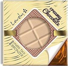 Parfüm, Parfüméria, kozmetikum Púder és bronzosító arcra - Lovely Creamy Chocolate Deep Matte Bronze