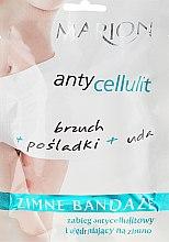 Parfüm, Parfüméria, kozmetikum Hideg pakolás narancsbőr ellen - Marion Anti-Cellulite Cool Bandages