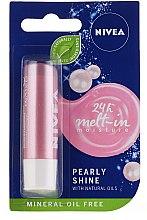 "Parfüm, Parfüméria, kozmetikum Ajakbalzsam ""Pearl shine"" - Nivea Lip Care Pearl & Shine Limited Edition"