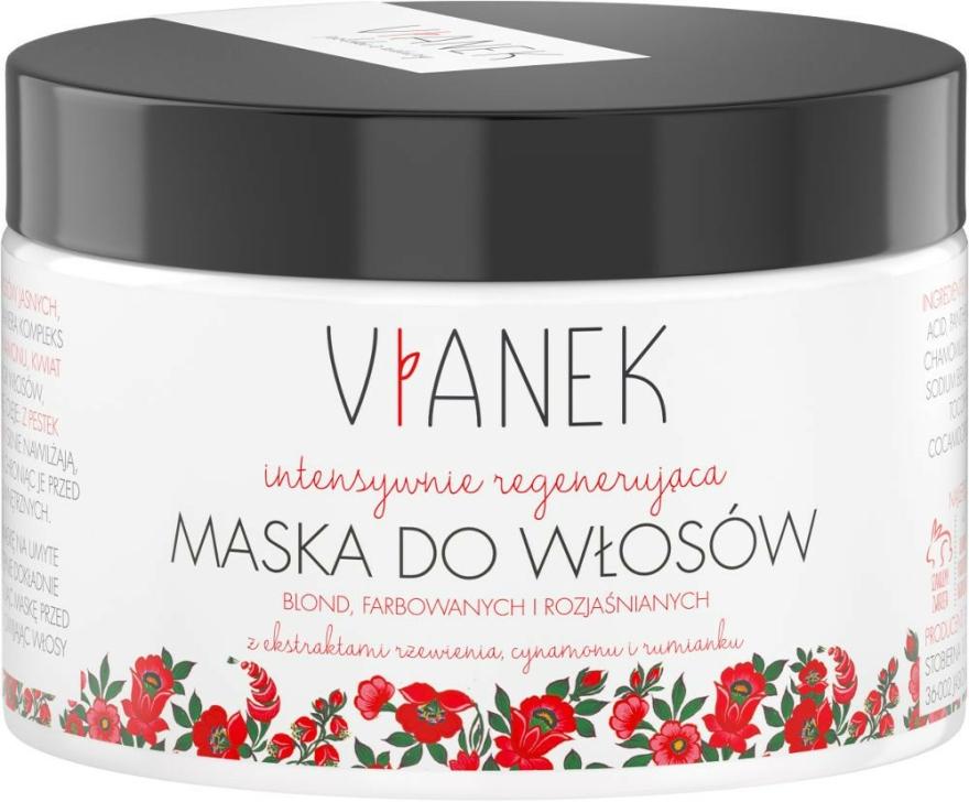 Hidratáló intenzív maszk világos és szőke hajra - Vianek Blond Hair Mask