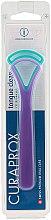 Parfüm, Parfüméria, kozmetikum Nyelvkaparó CTC 203, kék+lila - Curaprox Tongue Cleaner