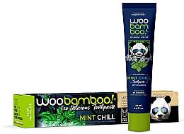 Parfüm, Parfüméria, kozmetikum Fogkrém mentával és fluoriddal - Woobamboo Mint Chill Toothpaste With Fluoride