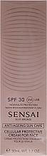 Parfüm, Parfüméria, kozmetikum Napvédő arckrém SPF30 - Kanebo Sensai Cellular Protective Cream For Face
