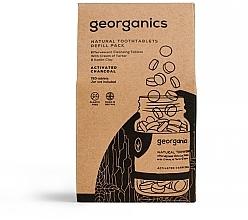 """Parfüm, Parfüméria, kozmetikum Fogtisztító tabletta """"Aktív szén"""" - Georganics Natural Toothtablets Activated Charcoal (utántöltő)"""