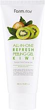 Parfüm, Parfüméria, kozmetikum Peeling-hámlasztó arcra kivivel - FarmStay All-In-One Refresh Peeling Gel Kiwi