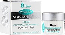 Parfüm, Parfüméria, kozmetikum Aktív világosító krém kézre és testre - Ava Laboratorium White Skin Active Whitening Cream For Hands And Body