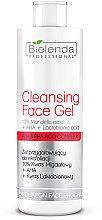 Parfüm, Parfüméria, kozmetikum Hámlasztó gél 10% Mandula sav + AHA + Actobionsav - Bielenda Professional Exfoliation Face Program Cleansing Face Gel