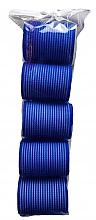 Parfüm, Parfüméria, kozmetikum Tépőzáras hajcsavaró 498788, 48 mm, kék - Inter-Vion