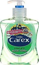 """Parfüm, Parfüméria, kozmetikum Antibakteriális folyékony szappan """"Aloe vera"""" - Carex Aloe Vera Hand Wash"""