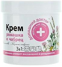 Parfüm, Parfüméria, kozmetikum Bőrkrém kamillával és kakukkfűvel - Házi Orvos