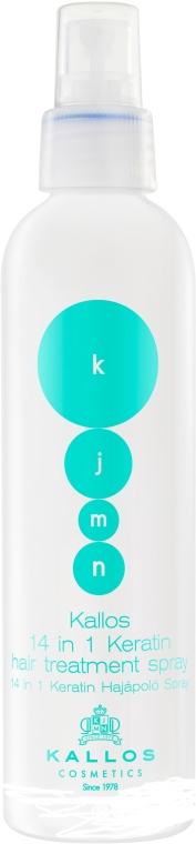 Keratin hajspray - Kallos Cosmetics Keratin Spray