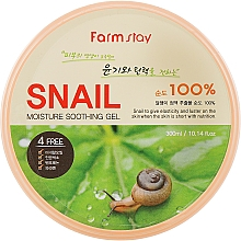 Parfüm, Parfüméria, kozmetikum Gél csiga mucinnal - FarmStay Moisture Soothing Gel Snail