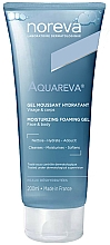 Parfüm, Parfüméria, kozmetikum Hidratáló habzó gél - Noreva Aquareva Gel Moussant Hydratant