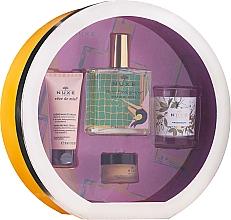 Parfüm, Parfüméria, kozmetikum Szett - Nuxe Culte Prodigieux Box (oil/100ml + h/cr/30ml + lip/balm/15ml + candle)