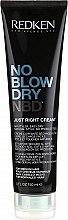 Parfüm, Parfüméria, kozmetikum Styling-krém normál hajra - Redken No Blow Dry Just Right Cream