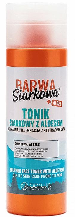 Arctonik kénnel és aloe verával - Barwa Siarkowa + Aloes