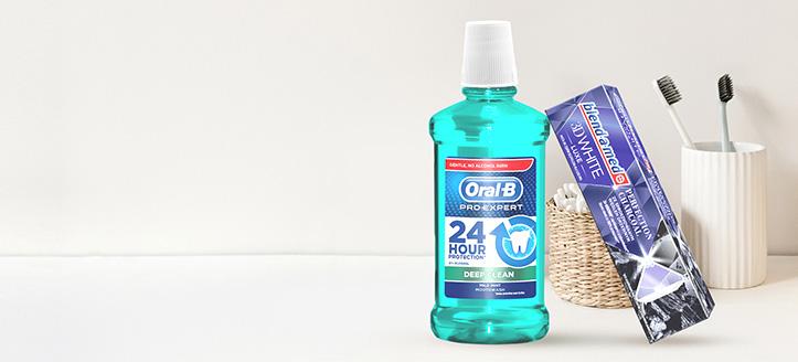 Blend-a-med, Blend-A-Dent vagy Oral-B termékek 2100 Ft feletti vásárlása során kapj ajándékba fogkrémet
