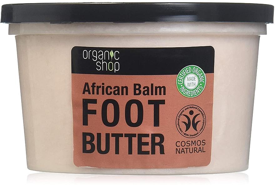 "Lábvaj ""Afrikai balzsam"" - Organic Shop Organic Hibiscus & 7 Oils Foot Butter — fotó N2"