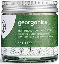 Parfüm, Parfüméria, kozmetikum Natúr fogpor - Georganics Tea Tree Natural Toothpowder
