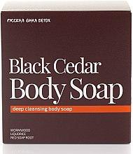 Parfüm, Parfüméria, kozmetikum Testszappan - Natura Siberica Fresh Spa Russkaja Bania Detox Black Cedar Body Soap