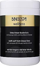 Parfüm, Parfüméria, kozmetikum Holt-tengeri SPA só Q10 koenzimmel és goji bogyó kivonattal - BingoSpa Salt For Bath SPA of Dead Sea
