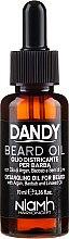 Parfüm, Parfüméria, kozmetikum Szakáll és bajusz olaj - Niamh Hairconcept Dandy Beard Oil