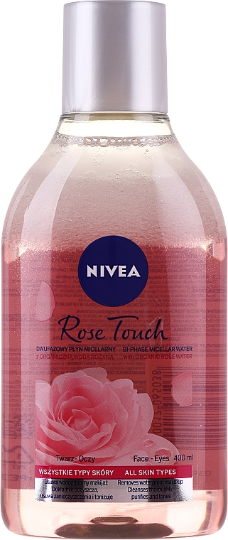 Rózsaszín micellás víz - Nivea MicellAIR Skin Breathe Micellar Rose Water With Oil
