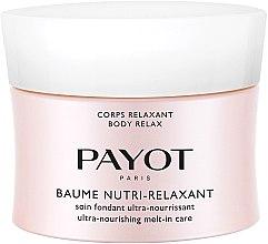 Parfüm, Parfüméria, kozmetikum Ultra tápláló testápoló balzsam - Payot Corps Relaxant Baume Nutri-Relaxant