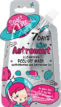 """Parfüm, Parfüméria, kozmetikum Lehúzható maszk """"Miss astronaut"""" mentollal kozmikus jégszemekkel - 7 Days Space Face"""